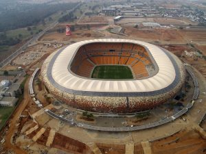 Stadion Soccer City in Johannesburg