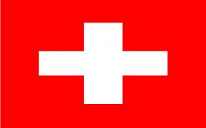 Zuid-Afrika Vlag Zwitserland 2010