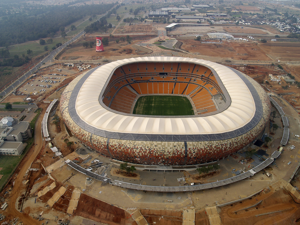 Stadion Soccer City in Johannesburg