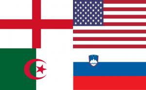 Vlaggen van Groep C