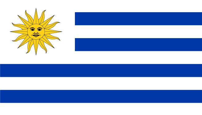 Vlag van Uruguay