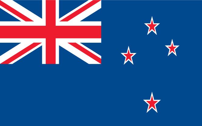 Nieuw-Zeeland Vlag WK 2010 Zuid-Afrika