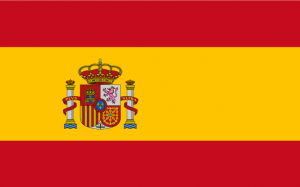 Zuid-Afrika 2010 Vlag Spanje