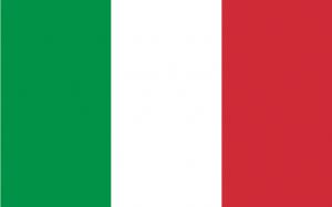 Italië WK 2010 Zuid-Afrika vlag